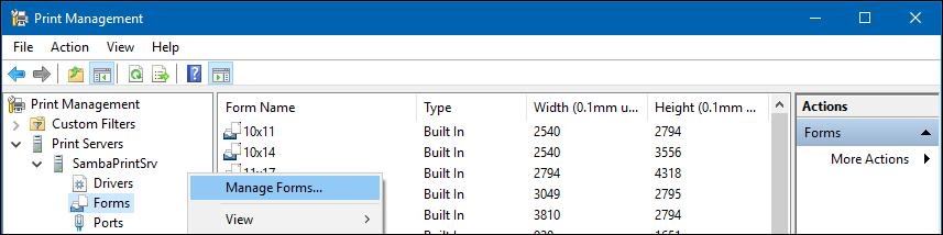 Creating Custom Paper Sizes - SambaWiki
