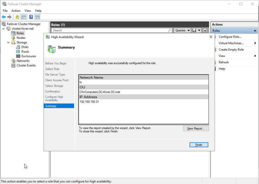 Setting up a Windows failover cluster node fs role.png