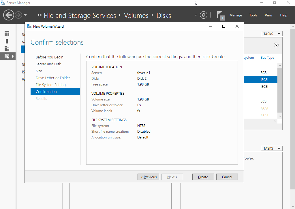 Setting up a Windows failover cluster ad fs volume.png